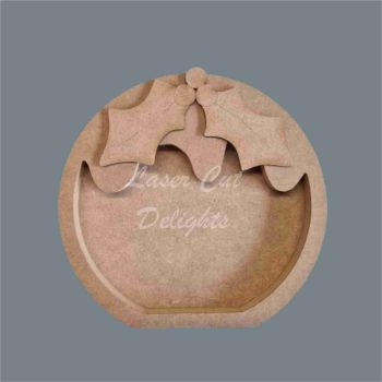 Open Fillable Christmas Pudding (no acrylic) / Laser Cut Delights