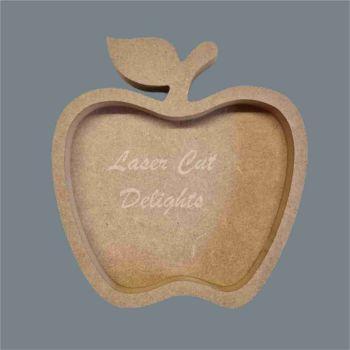 Open Fillable Apple (no acrylic) / Laser Cut Delights