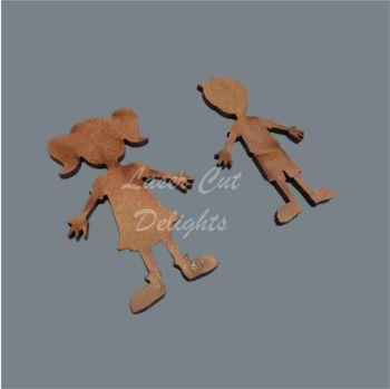 Family Character CHILDREN - Plain / Laser Cut Delights
