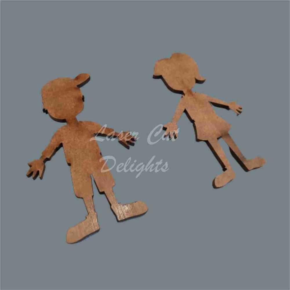Family Character TEENAGERS - Plain / Laser Cut Delights