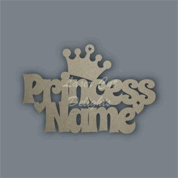 Named Princess / Laser Cut Delights