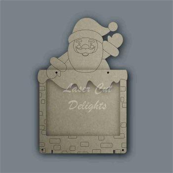 Advent Calendar Countdown To Christmas DROP BOX - SANTA / Laser Cut Delights