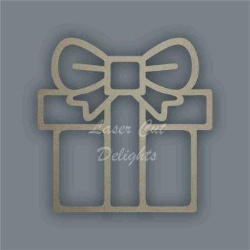 Present Gift Stencil / Laser Cut Delights