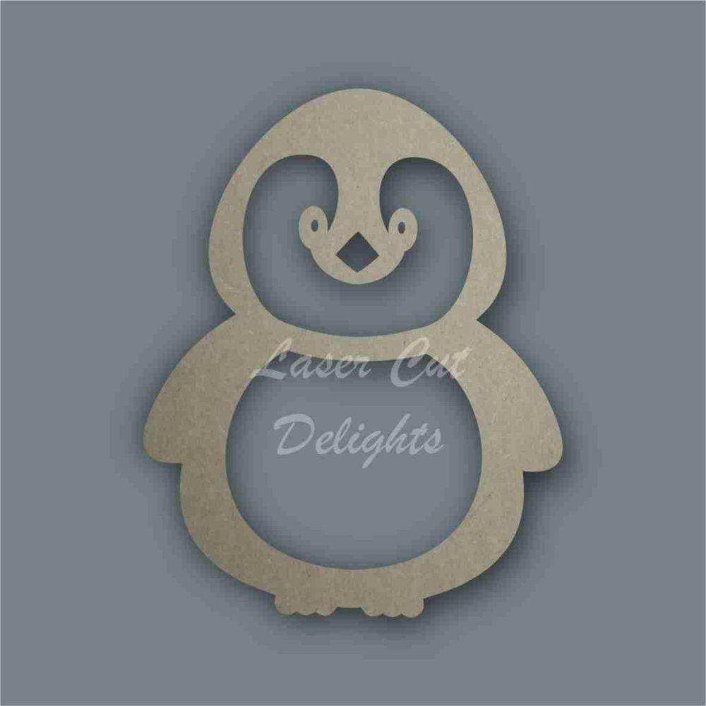 Penguin Cute Stencil / Laser Cut Delights