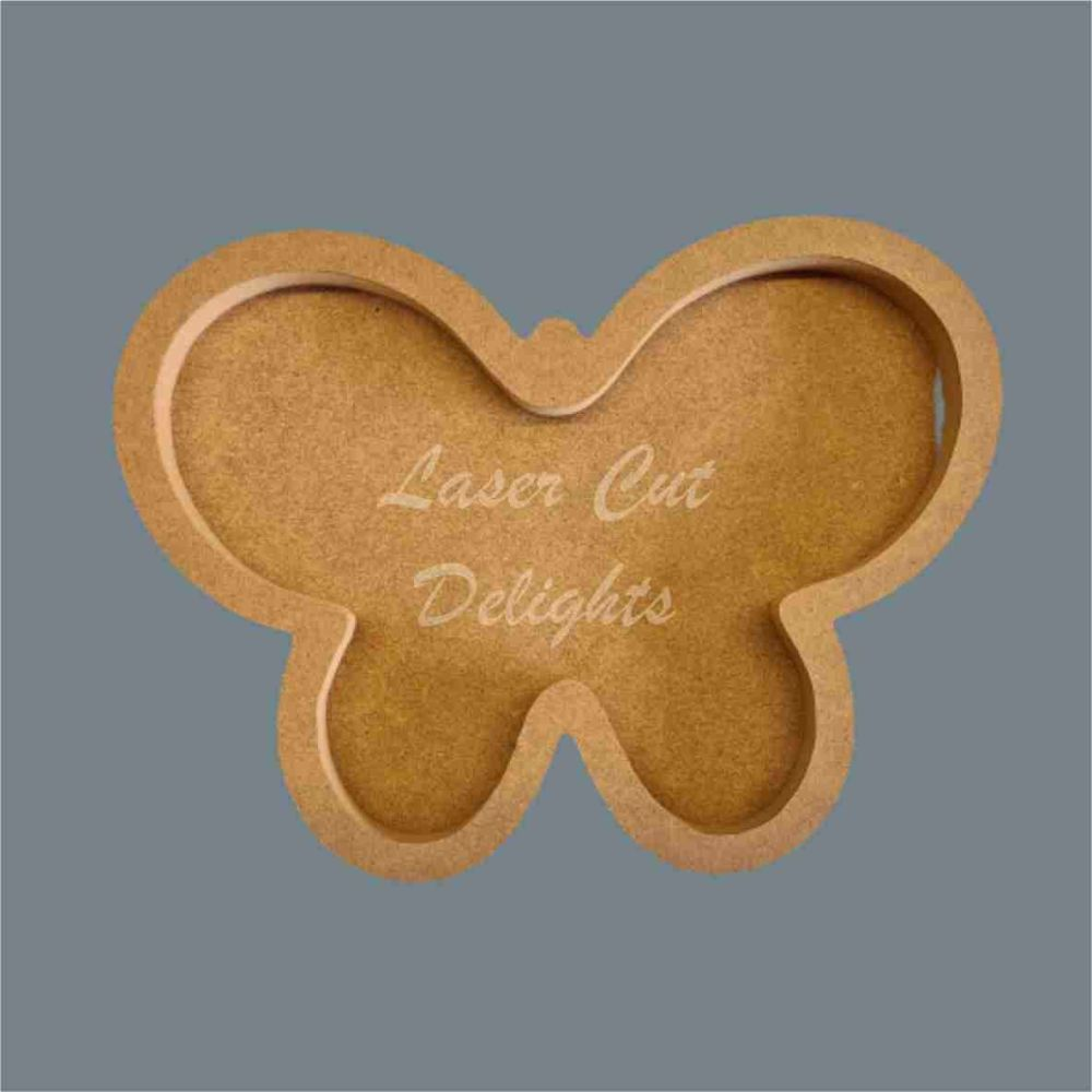 Open Fillable Butterfly (no acrylic) / Laser Cut Delights