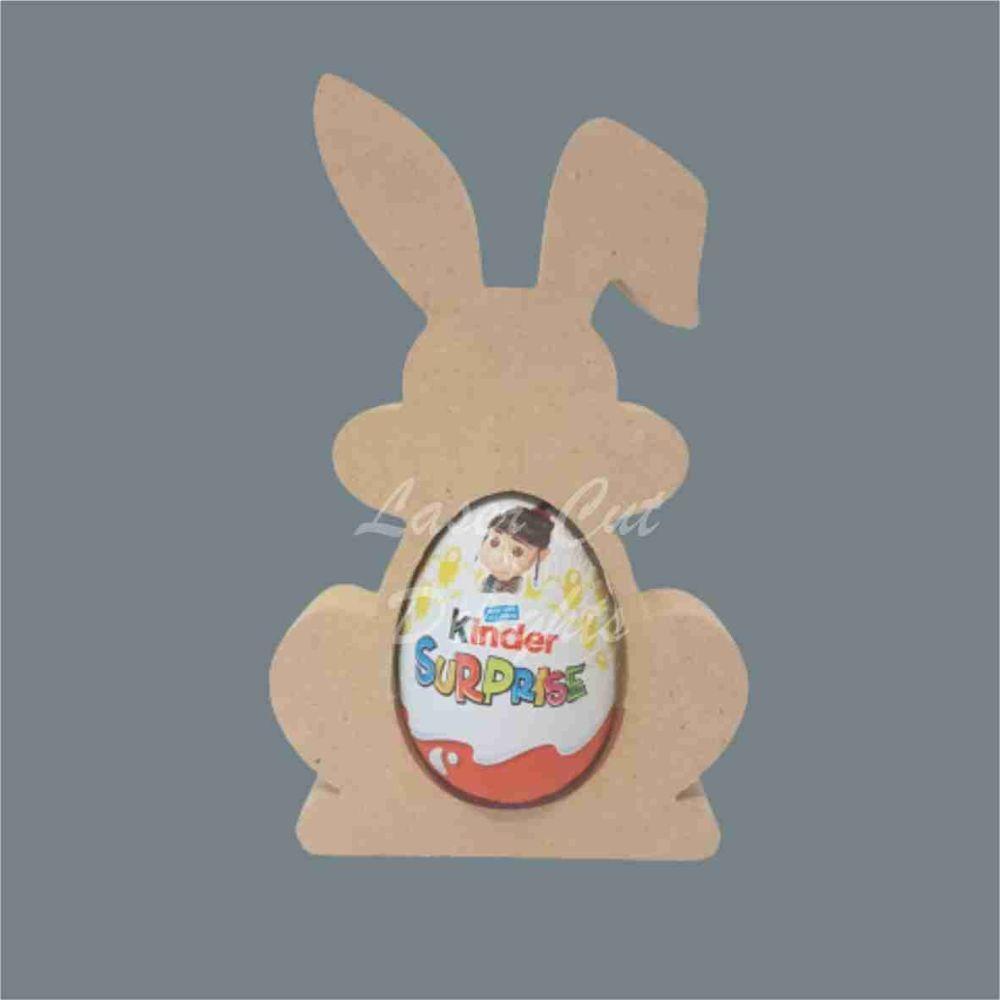 Chocolate Egg Holder - Rabbits 18mm / Laser Cut Delights