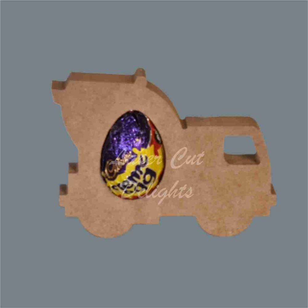 Chocolate Egg Holder 18mm - Cement Mixer / Laser Cut Delights