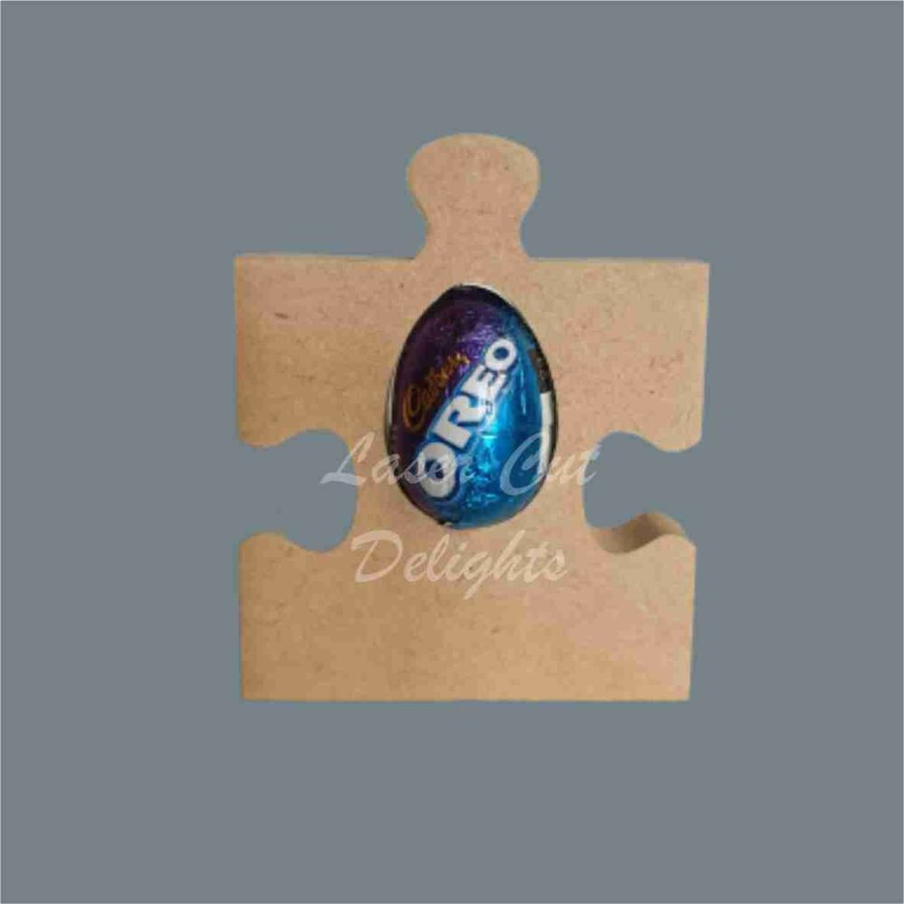 Chocolate Egg Holder 18mm - Puzzle Jigsaw Piece / Laser Cut Delights