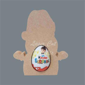 Chocolate Egg Holder 18mm - Santa / Laser Cut Delights
