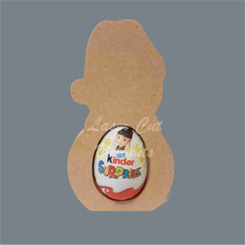 Chocolate Egg Holder 18mm - Snow People / Laser Cut Delights