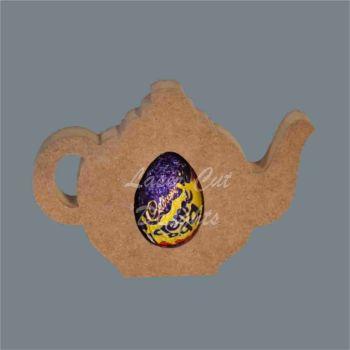 Chocolate Egg Holder 18mm - Teapot / Laser Cut Delights