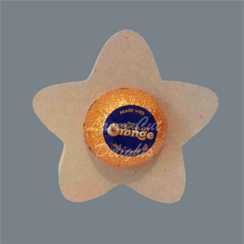 Chocolate Egg Holder 18mm - Star / Laser Cut Delights