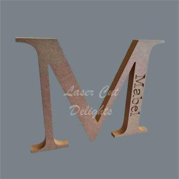 Engraved CAPITAL Letters 18mm / Laser Cut Delights
