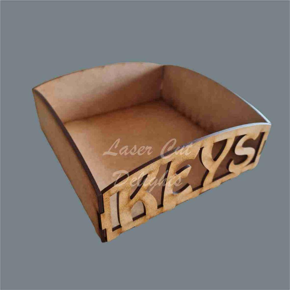 Tray - Keys 20x20cm 3mm