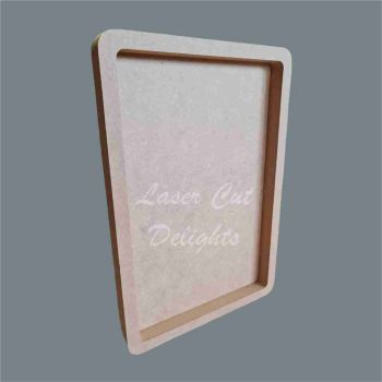 Open Fillable Oblong (no acrylic) / Laser Cut Delights