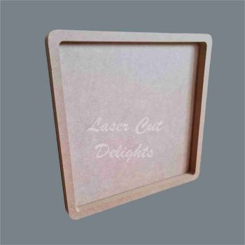 Open Fillable Square (no acrylic) / Laser Cut Delights