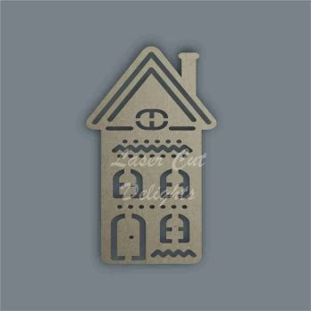 Christmas Cottage Tall Stencil / Laser Cut Delights