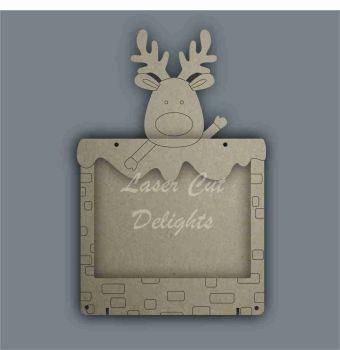 Advent Calendar Countdown To Christmas DROP BOX - REINDEER / Laser Cut Delights