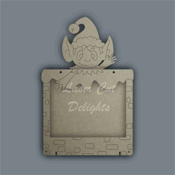 Advent Calendar Countdown To Christmas DROP BOX - ELF / Laser Cut Delights