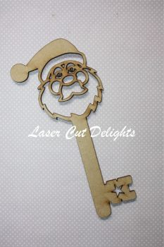 Santa Head Key (cut through) 3mm 20cm