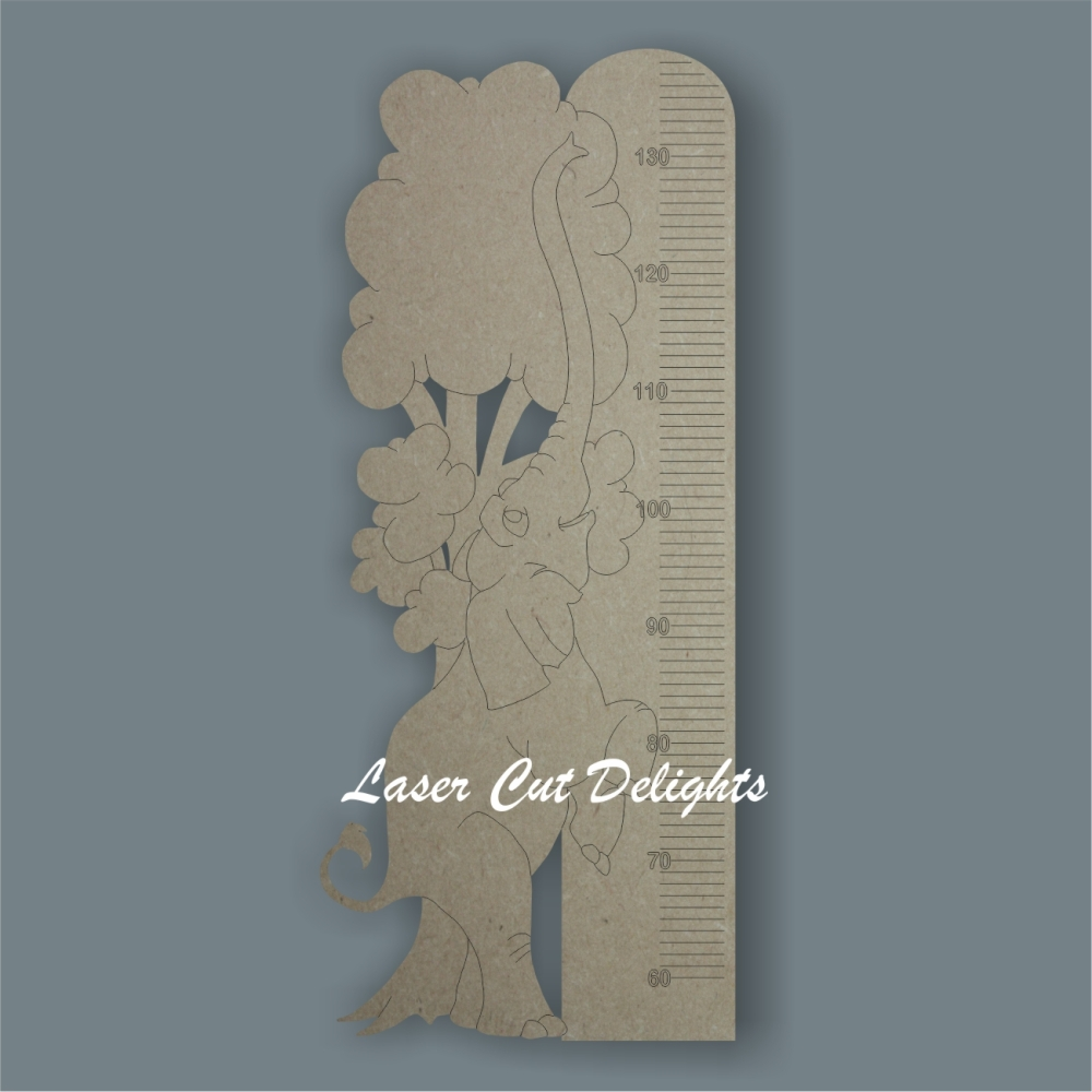 Elephant Height Chart 6mm