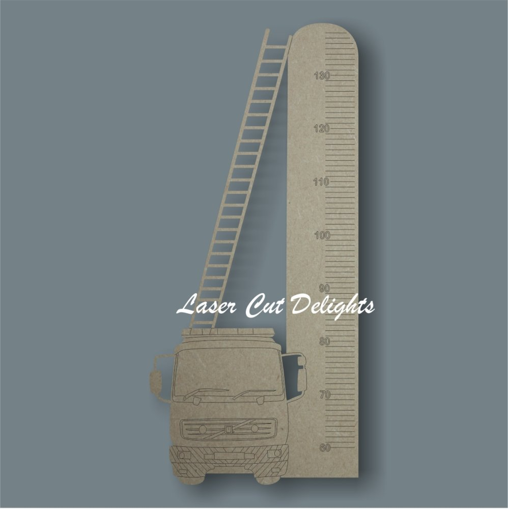 Fire Engine Height Chart 6mm