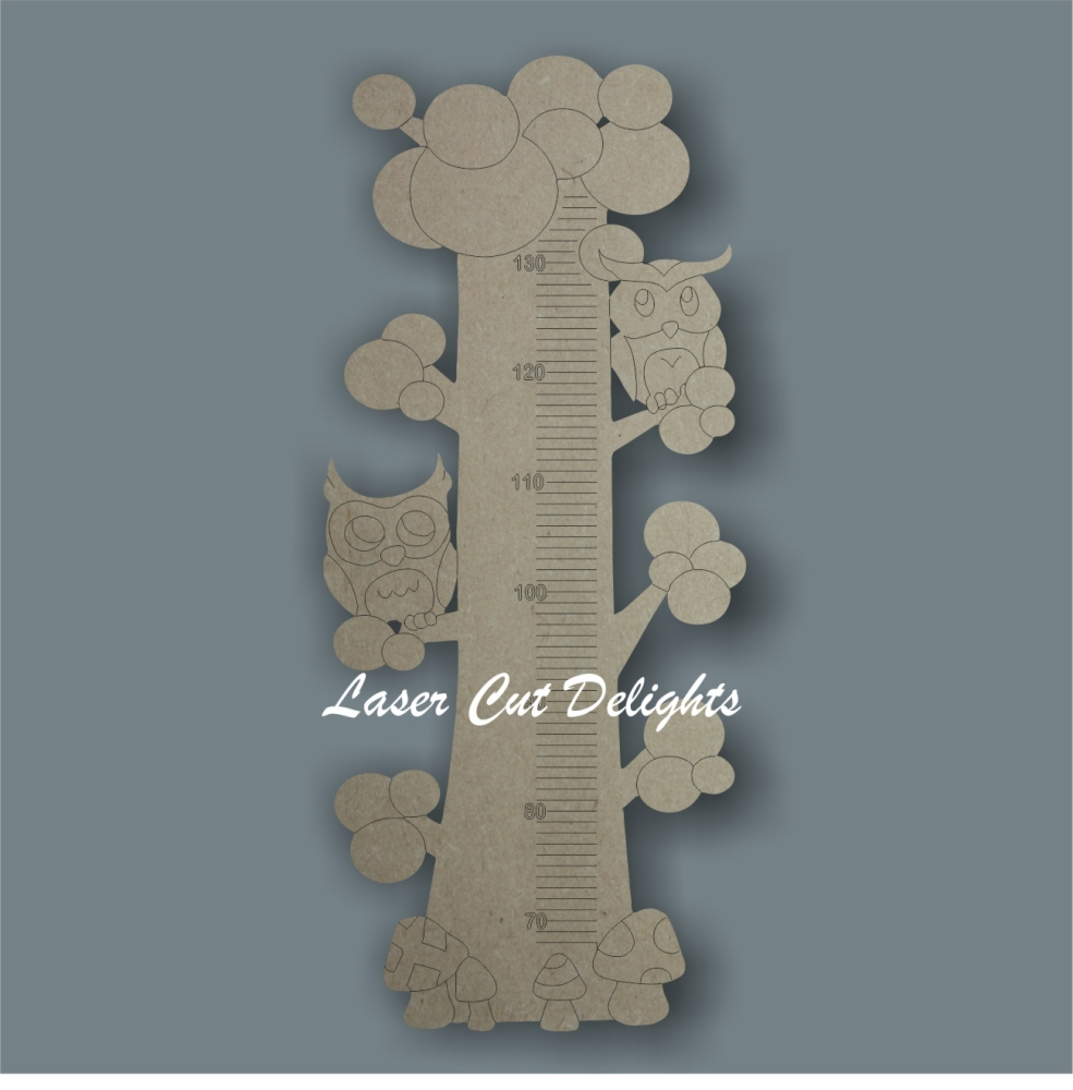 Owls Height Chart 6mm