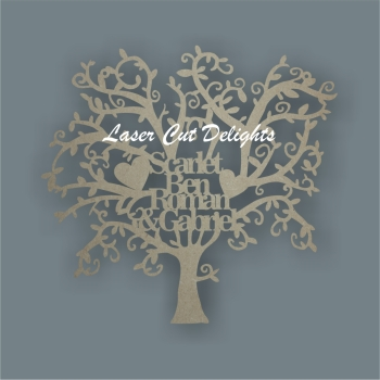 *Make Your Own Personalised Family Tree (hanging or freestanding)