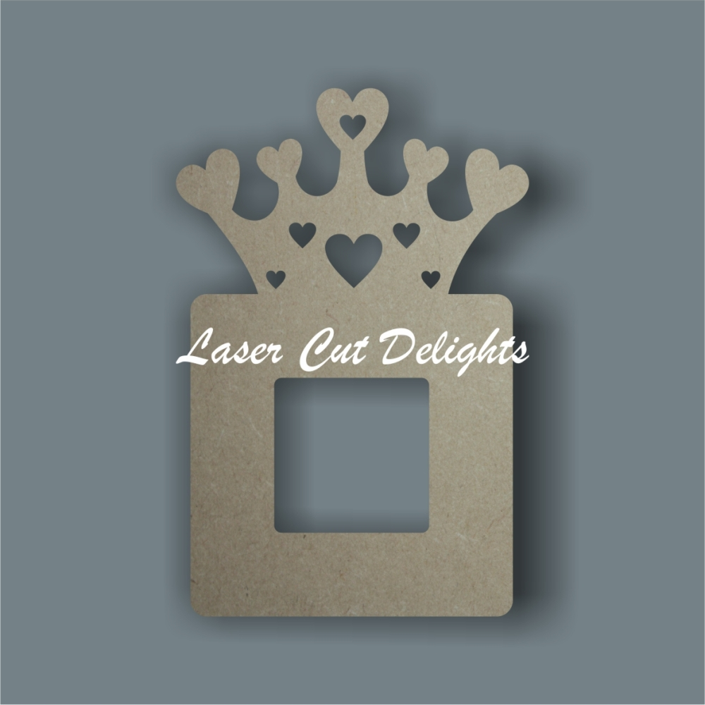 Topped Crown Light Surround / Laser Cut Delights