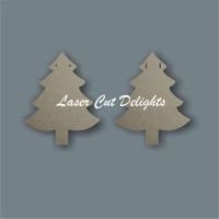 Christmas Tree Bunting / Laser Cut Delights