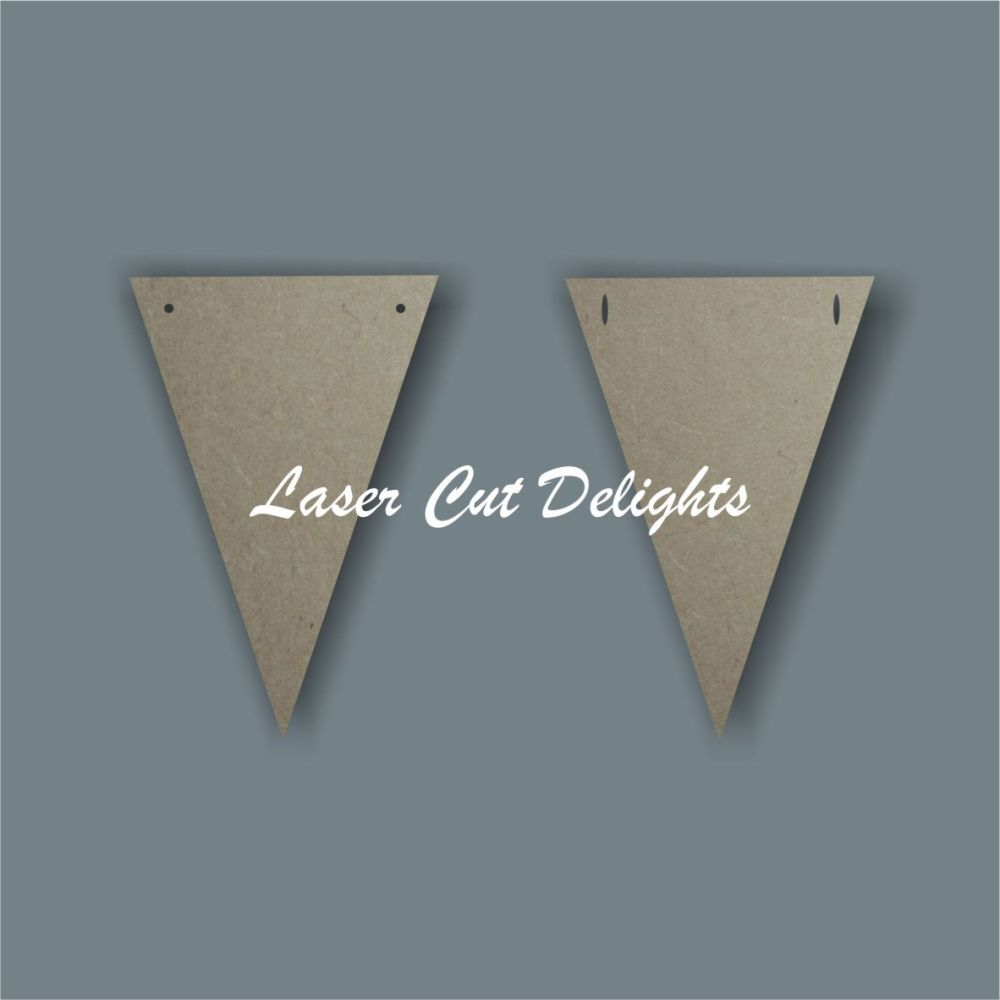 Flag Triangle Bunting / Laser Cut Delights