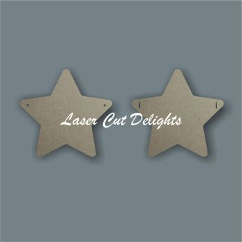 Basic Star Bunting / Laser Cut Delights