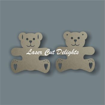 Teddy Bear Bunting / Laser Cut Delights