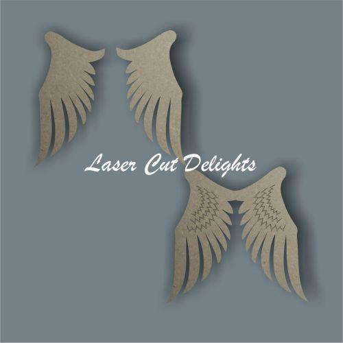 Wings (angel) 3mm 10cm