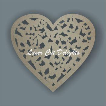 Heart of Butterflies / Laser Cut Delights