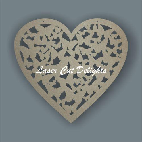 Heart of butterlfies 3mm