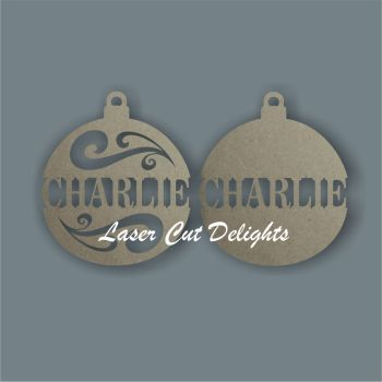 Bauble CENTRE / Laser Cut Delights