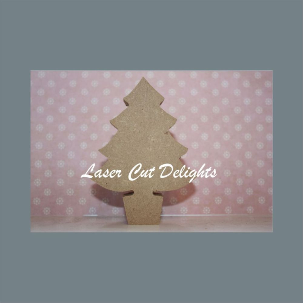 Christmas Tree 18mm / Laser Cut Delights