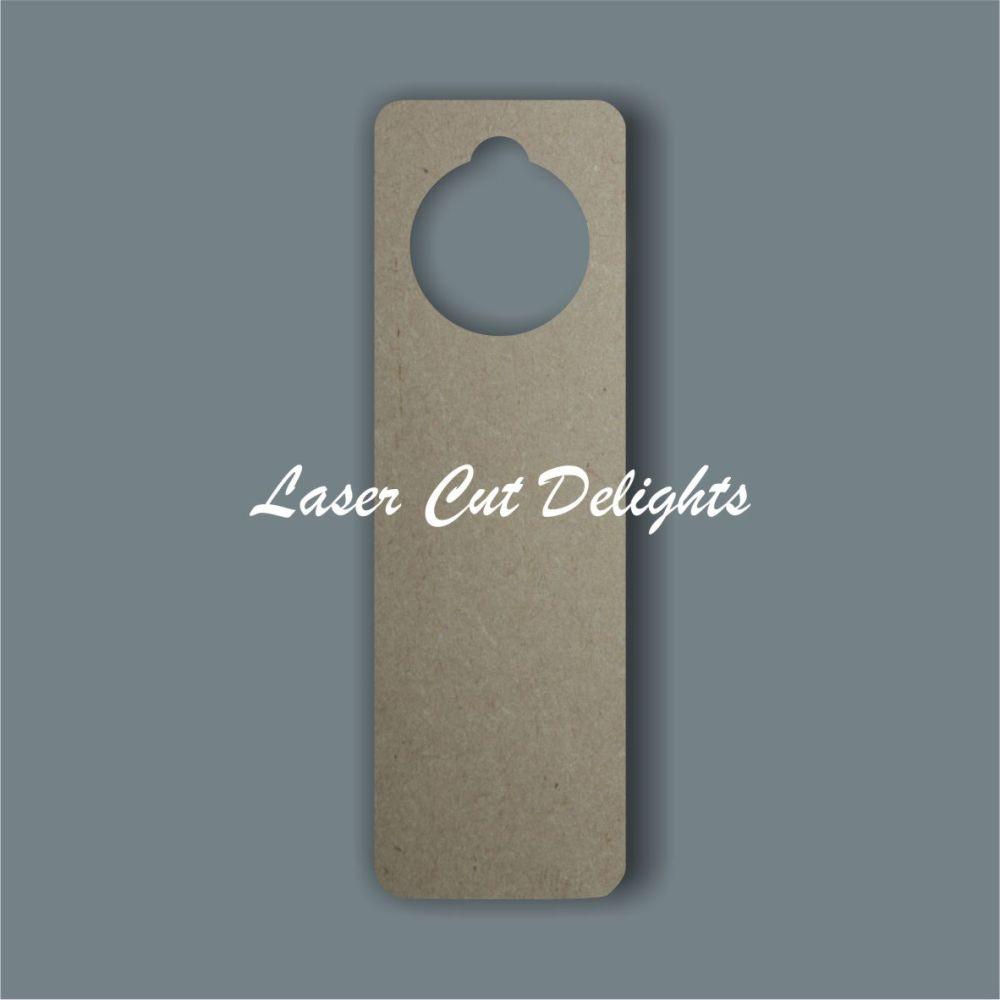 Door Hanger - Curved Edges