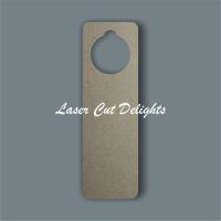 Door Hanger Curved Edges / Laser Cut Delights