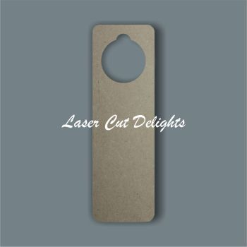 Door Hanger - Curved Edges