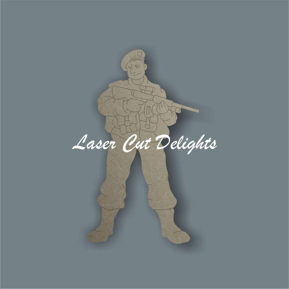 Soldier 3mm 10cm