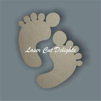 Baby Feet Pairs 3mm