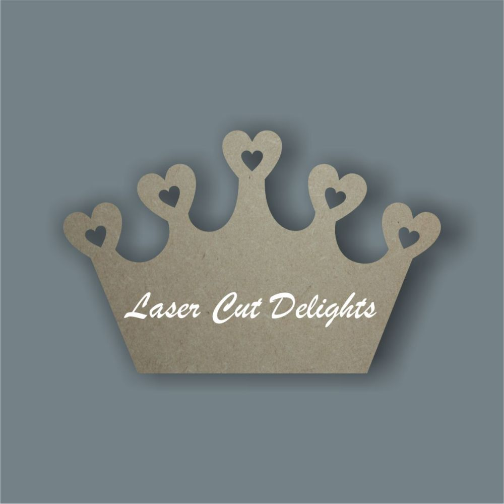 Princess Crown (basic) 3mm