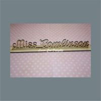 Desk Name Sign 3mm (price per letter)
