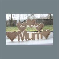 Multi Photo Frame 18mm / Laser Cut Delights