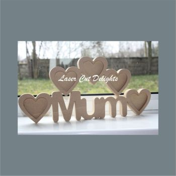 *Make Your Own Multi Photo Frame Word 18mm
