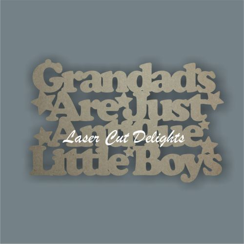 Grandads are just antique little boys 3mm 25cm