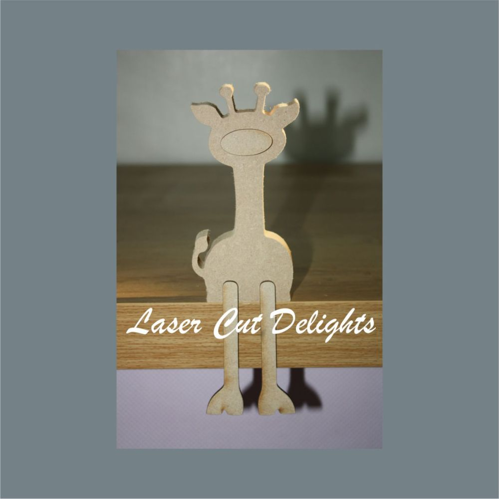 Edge Dangling GIRAFFE 18mm / Laser Cut Delights