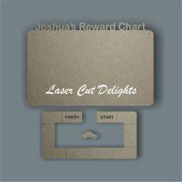 CAR Reward Chart / Laser Cut Delights